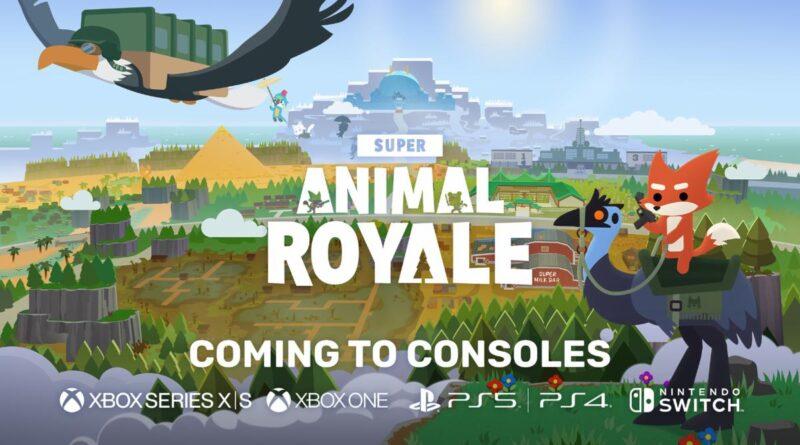 Super Animal Royale verrà lanciato su console quest'anno e rimarrà free-to-play!