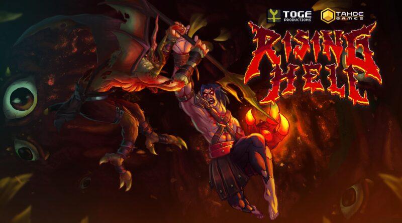 <h2 class='entry-title'>Rising Hell in arrivo su Nintendo Switch il 20 maggio</h2><h4 class='entry-subtitle'><span style='color:#808080;font-size:14px;'>L'unica via è su! Combatti per uscire dall'inferno in questa roguelite heavy metal.</span></h4>