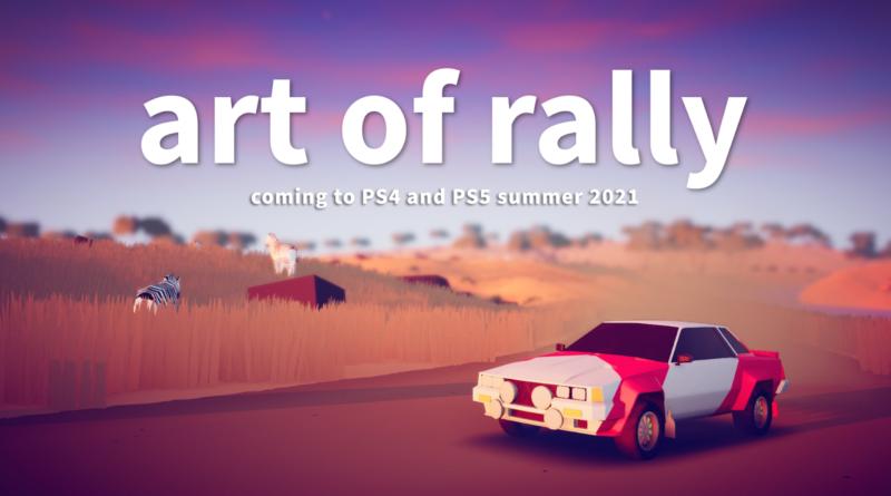 """Sony PlayStation è la prossima tappa per """"Art of rally"""", in arrivo quest'estate!"""