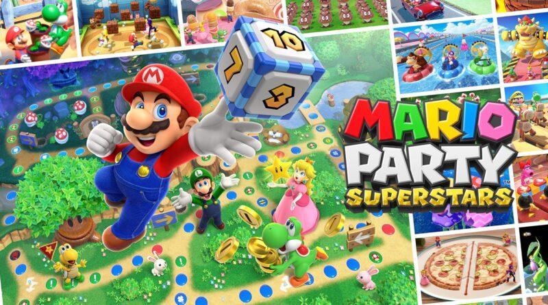 Mario Party Superstars: Il nuovo trailer ci mostra i tabelloni classici, minigiochi e altro.