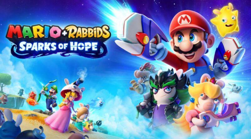 Mario + Rabbids Sparks of Hope rivelato tramite il sito Web ufficiale di Nintendo