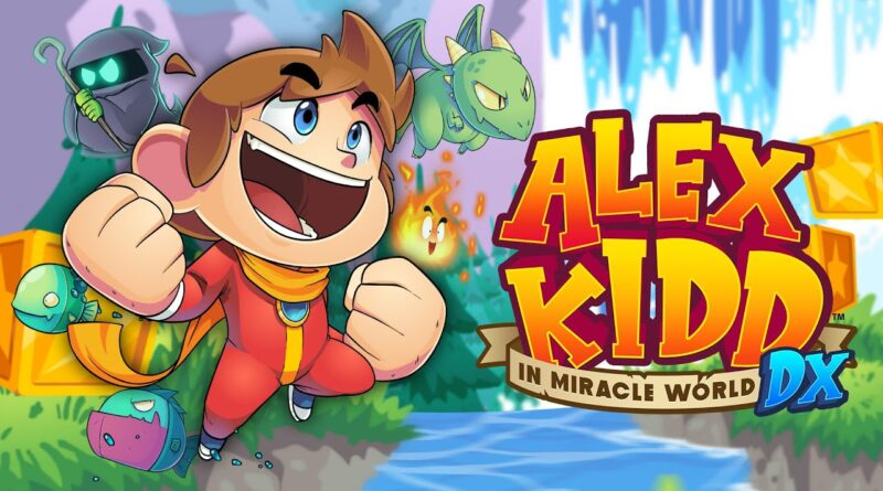 Alex Kidd in Miracle World DX e si ritorna subito al 1986 – Recensione