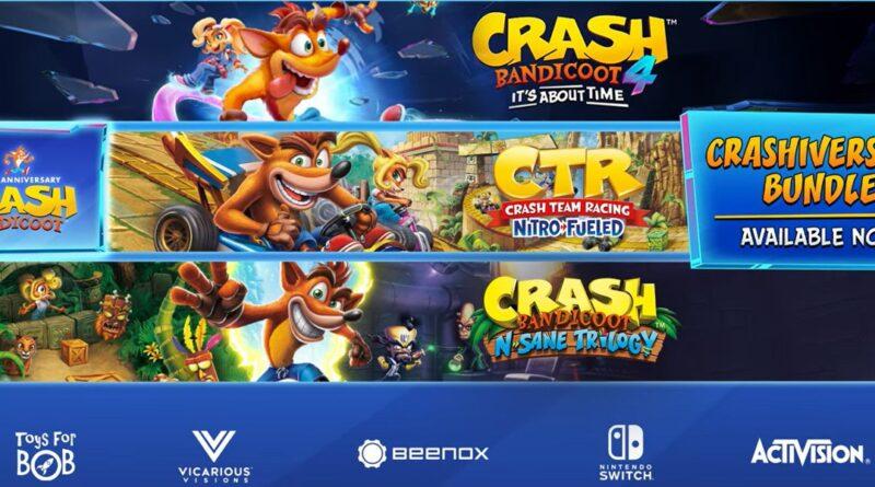 CRASHiversary: in arrivo i Bundle per festeggiare i 25 anni di Crash