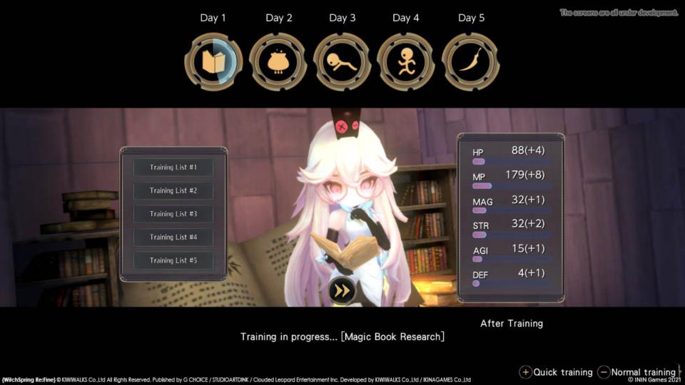 WitchSpring3 Re:Fine