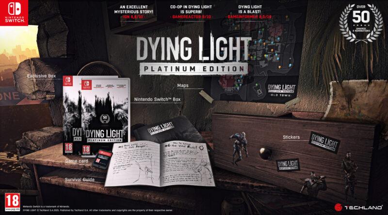Oggi Techland ha lanciato l'attesissimoDying Light Platinum Editionper Nintendo Switch