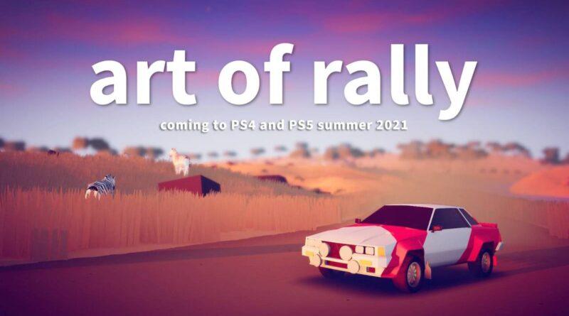 Art of Rally uscirà su PlayStation 4 e 5 il 6 ottobre