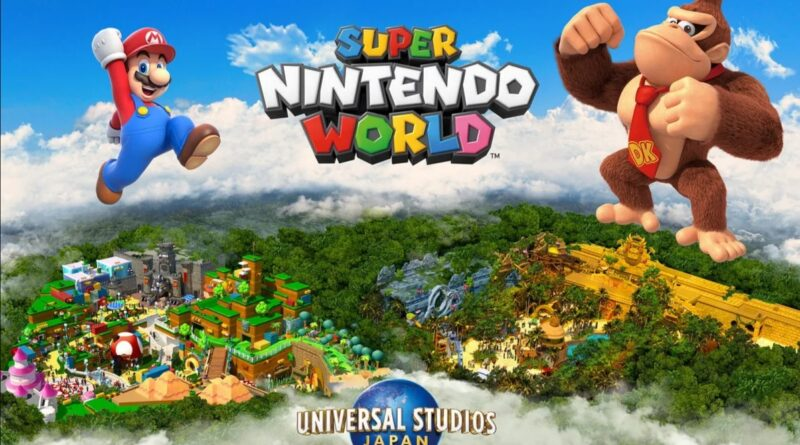 Super Nintendo World – in arrivo l'area dedicata a Donkey Kong