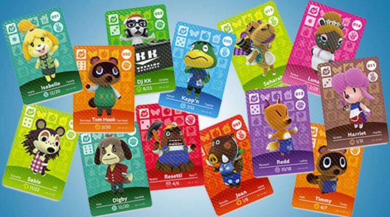 In arrivo le carte amiibo di Animal Crossing Serie 5