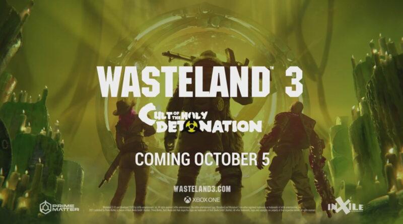 Wasteland 3: è disponibile il DLC Cult of the Holy Detonation