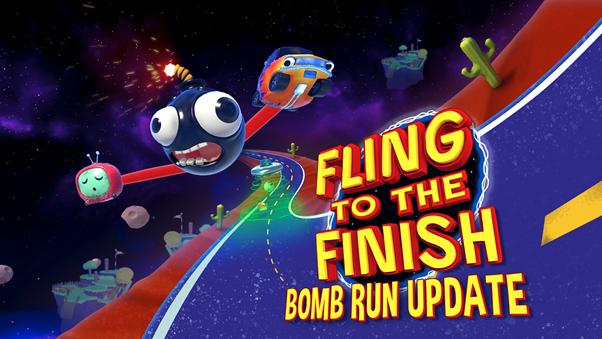 Fling to the Finish: Chaotic Coop Racing Game ottiene un nuovo aggiornamento.