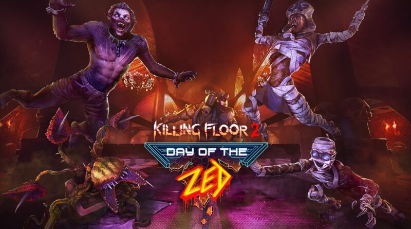 Killing Floor 2: l'aggiornamento di Halloween Day of the Zed porta cowboy e zombi su PC, PlayStation 4 e Xbox