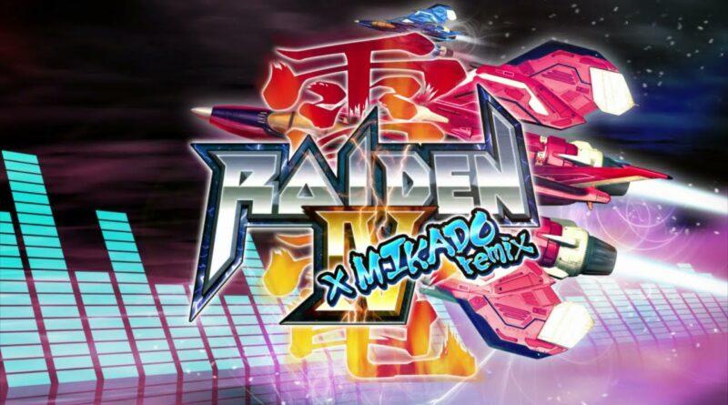 Raiden IV x MIKADO remix: in arrivo su Nintendo Switch!