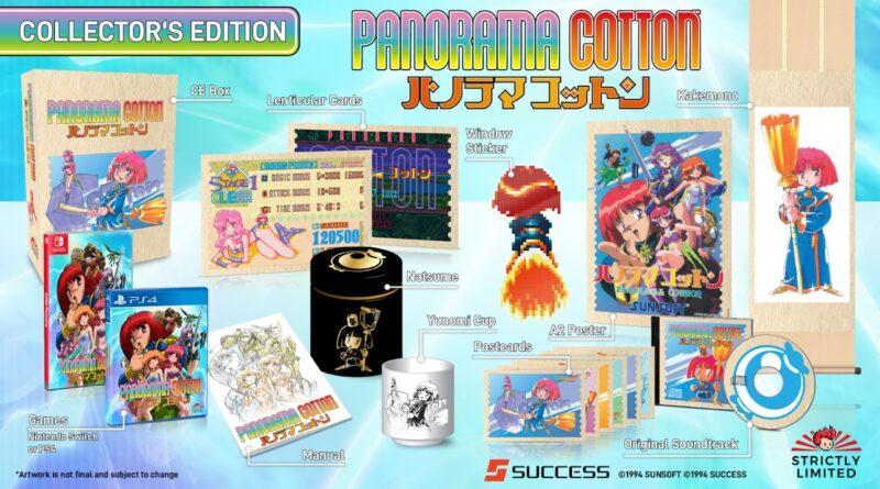 Panorama Cotton uscirà in digitale il 29 ottobre - il pre-ordine in scatola inizia il 24 ottobre