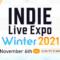 INDIE Live Expo Winter 2021 ritorna il 6 novembre, con 500 giochi indie