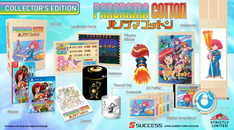 Panorama Cotton per PS4 e Switch in arrivo il 29 ottobre