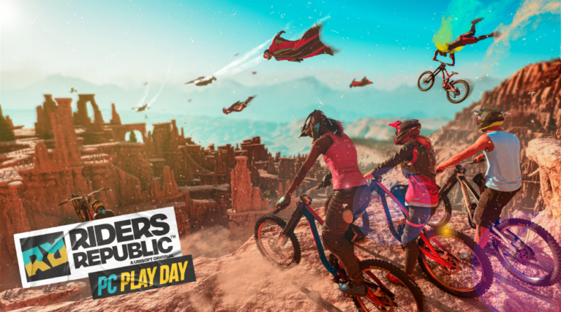 Riders Republic disponibile il 12 ottobre in esclusiva per Ubisoft Connect PC durante il PC Play Day.
