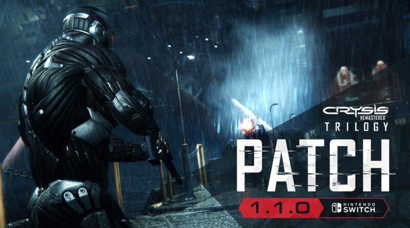 Rilasciata la patch 1.1.0 per Crysis 2 e 3 Remastered