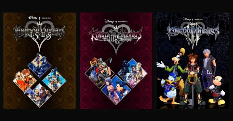 saga completa di Kingdom Hearts