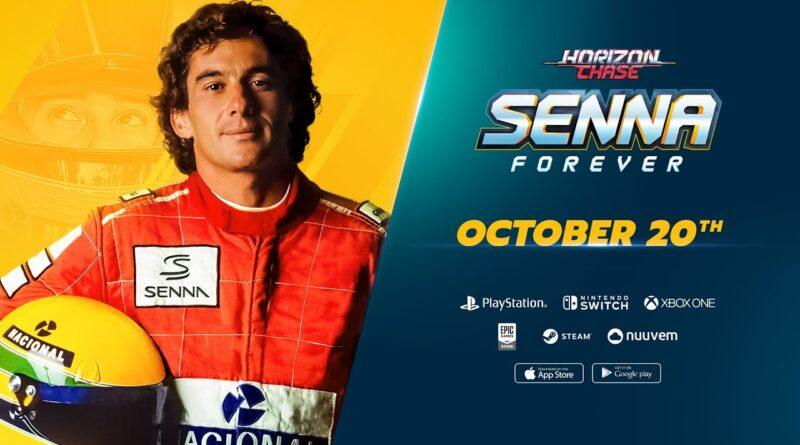 "Horizon Chas ""Senna Forever"" disponibile ora su PlayStation 4, Xbox One e Nintendo Switch"