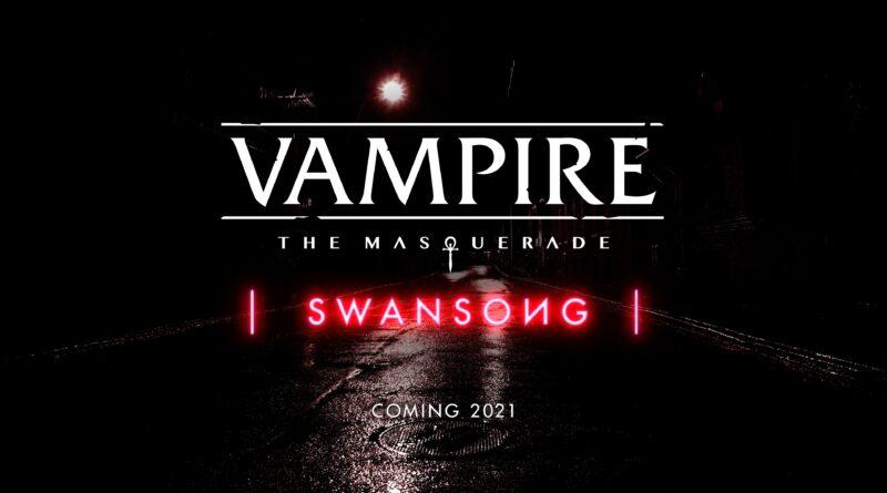 Vampire: The Masquerade - Swansong- Nuovo personaggio